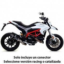 Escape Arrow Ducati Hyperstrada 2013-2018 Race-Tech Carbono copa Carbono