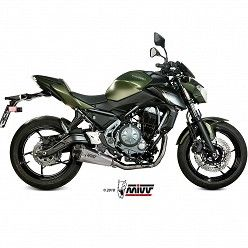 Escape completo MIVV Kawasaki Z650 Delta Race Inox