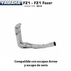 Colectores Arrow Yamaha FZ1 2006-2016