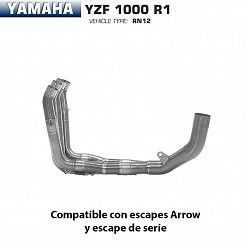 Colectores Arrow Yamaha R1 1000 2004-2006
