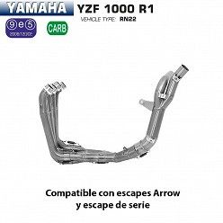 Colectores racing Arrow Yamaha R1 1000 2009-2014