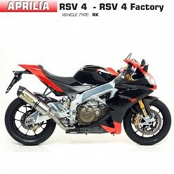 Escape Arrow Aprilia RSV4 2009-2015 Racetech Titanio