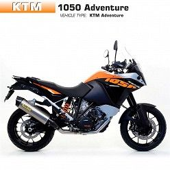 Escape Arrow KTM 1050 Adventure 2015-2016 Maxi Racetech Titanio