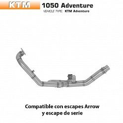 Colectores racing KTM 1190 Adventure 2013-2016
