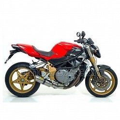 Escape Arrow MV Agusta Brutale 910 2005-2008 Street Thunder Titanio
