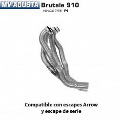 Colectores Arrow racing MV Agusta Brutale 910 2005- 2008