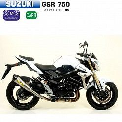 Escape Arrow Suzuki GSR 750 2011-2016 X-Kone