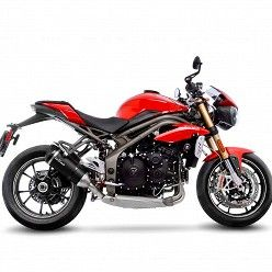 Escapes Leovince Triumph Speed Triple 1050 R-S 2016-2017 Factory S Carbono