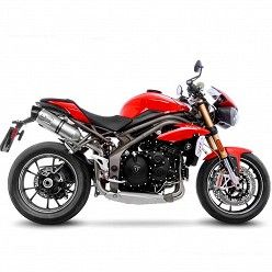 Escapes Leovince Triumph Speed Triple 1050 R-S 2016-2017 LV One Evo Inox