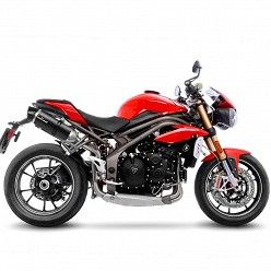 Escapes Leovince Triumph Speed Triple 1050 R-S 2016-2017 LV One Evo Carbono
