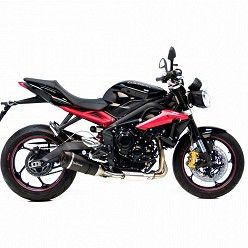 Escapes Leovince Triumph Street Triple 675 - R 2013-2016 Factory S Carbono