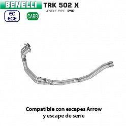 Colectores Benelli TRK 502 X 2018-2019 Arrow
