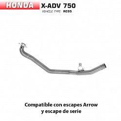 Colectores Honda X-ADV 2017-2019 Arrow