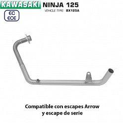 Colectores Kawasaki Ninja 125 2019 Arrow