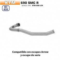 Colectores KTM 690 SMC R 2019 Arrow