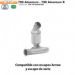 Descatalizador KTM 790 Adventure Arrow