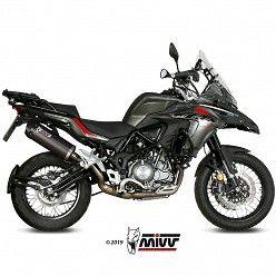 Escape Benelli TRK 502 X 2018-2020 MIVV Oval Carbono