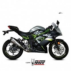 Escape Kawasaki Ninja 125 MIVV Delta Race Inox