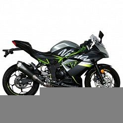 Escape Kawasaki Ninja 125 MIVV Delta Race Black