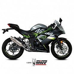 Escape Kawasaki Ninja 125 MIVV GP Pro Titanio