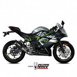 Escape Kawasaki Ninja 125 MIVV MK3 Carbono
