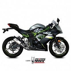 Escape Kawasaki Ninja 125 MIVV MK3 Titanio
