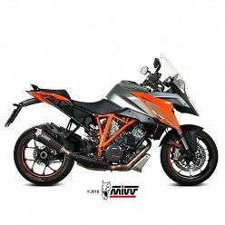 Escape KTM 1290 Superduke GT MIVV Delta Race Black