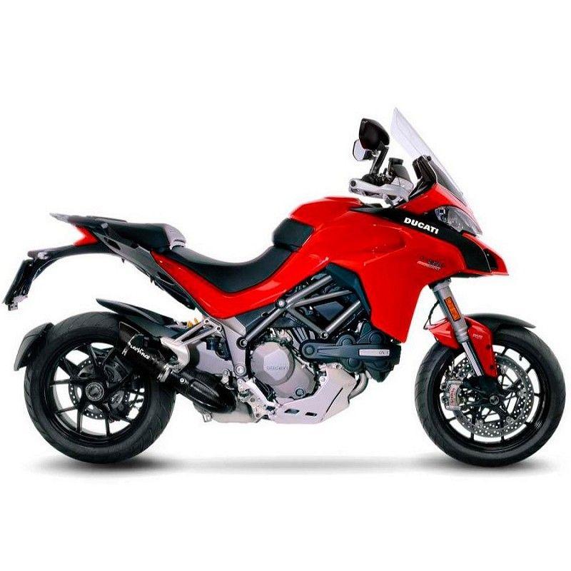 Escape Leovince Ducati Multistrada 1260 2018-2020 LV Pro Carbono
