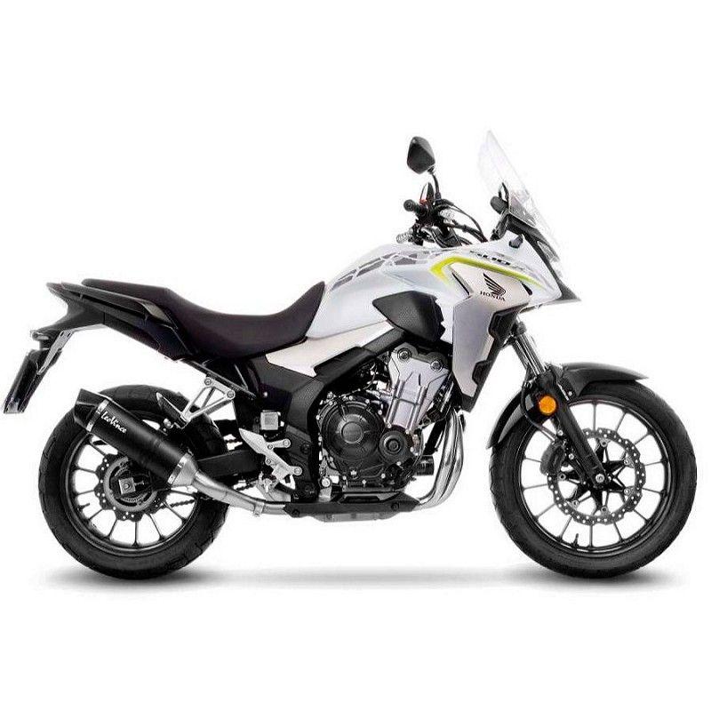 Escape Leovince Honda CB 500 X 2019-2020 LV Evo Carbono