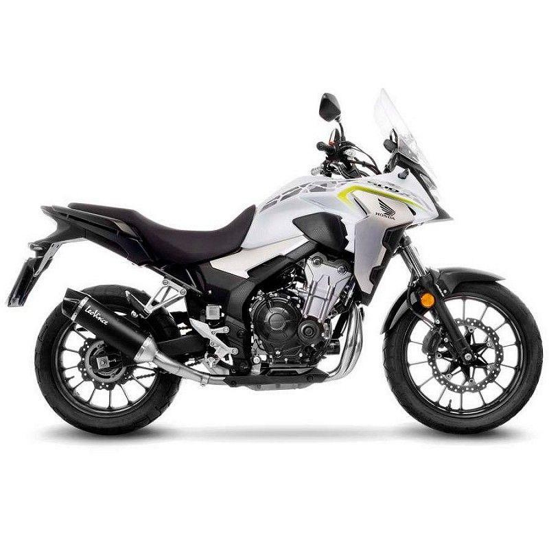 Escape Leovince Honda CB 500 X 2019-2020 Nero