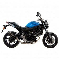 Escape Leovince Suzuki SV 650 X 2018-2020 Nero