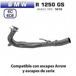 Colectores BMW R 1250 GS Arrow Titanio