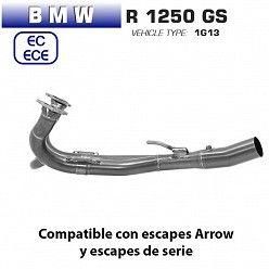 Colectores BMW R 1250 GS Arrow Inox