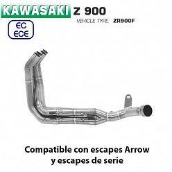 Colectores Kawasaki Z900 2020 Arrow inox