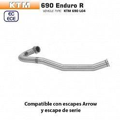 Colectores KTM 690 Enduro R 2019-2020 Arrow