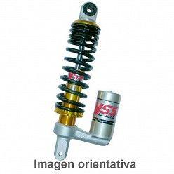Amortiguador trasero YSS Peugeot Squab 50 1995-1997 de tipo gas con botella