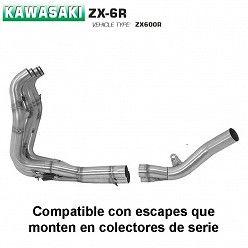 Colectores Arrow Kawasaki ZX-6R 2009-2016