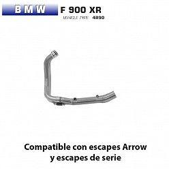 Colectores BMW F 900 XR Arrow Inox