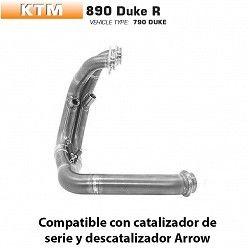 Colectores KTM 890 Duke R Arrow