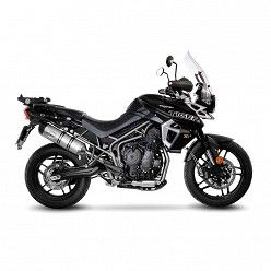 Escape Leovince Triumph Tiger 800 2017-2019 LV One Evo Inox