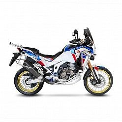 Escape Leovince Honda CRF 1100 L Africa Twin 2020-2021 LV-12 Black Inox