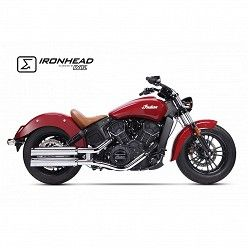 Escapes Indian Scout 2015-2019 IXIL Ironhead Round Chrome