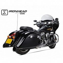 Escapes Indian Chief Dark Horse 2015-2019 IXIL Ironhead Round Black