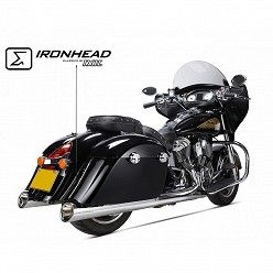 Escapes Indian Roadmaster 2015-2019 IXIL Ironhead Round Chrome