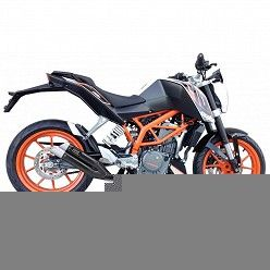 Escape KTM Duke 390 2012-2016 IXIL Dual Hyperlow Black XL