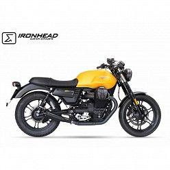 Escapes Moto Guzzi V7 III 2017-2020 IXIL Ironhead Conical Black