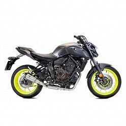 Escape completo Yamaha MT07 2014-2020 Ixrace MK2 Inox