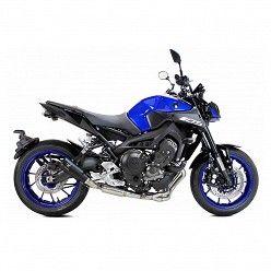 Escape completo Yamaha XSR 900 2016-2020 Ixrace MK2 Black Inox