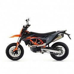 Escape Husqvarna 701 Supermoto 2021 Arrow RaceTech Titanio copa Carbono