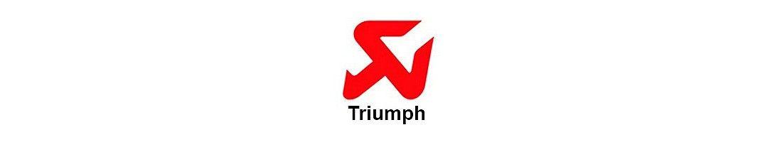 Akrapovic Triumph